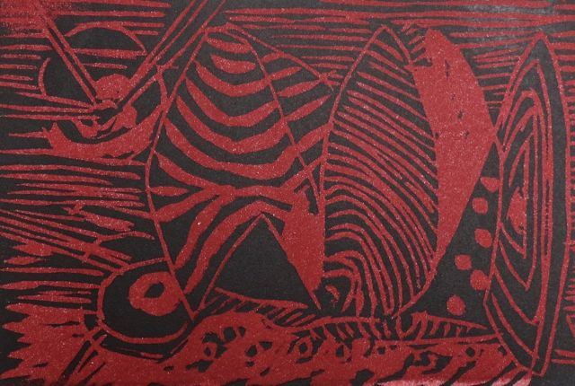 Albert Hennig | Untitled | woodcut | signed and numbered 2/20 | 20.5 x 29.5