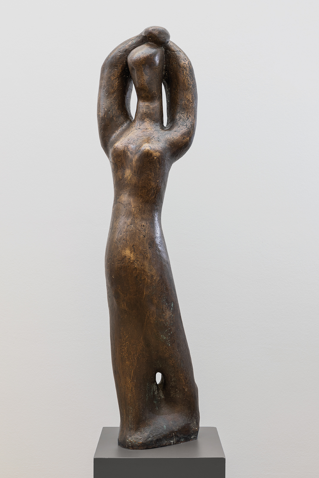 Louise Stomps | Goddess | 1950s | bronze | signed | 133 cm