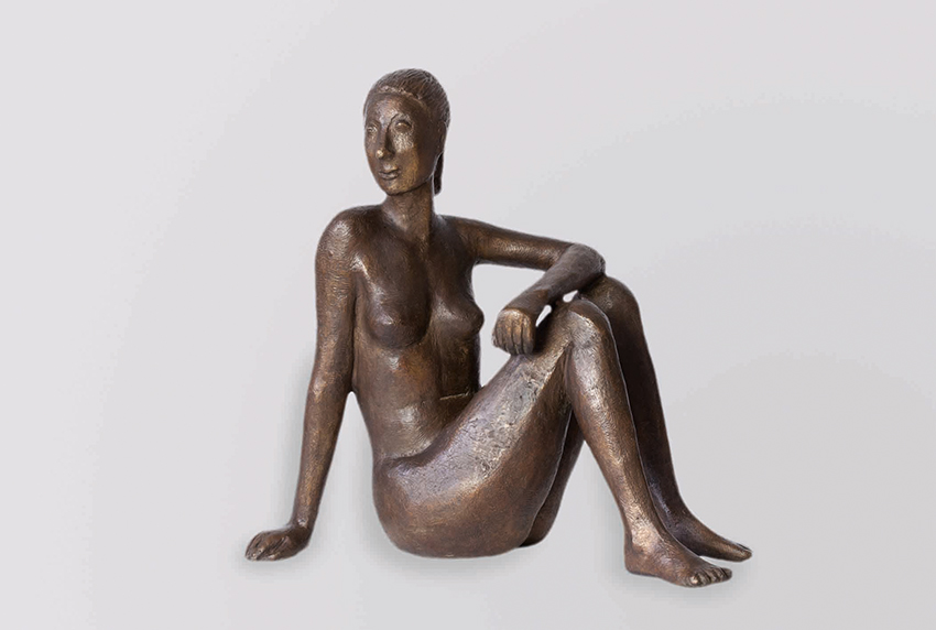 Gerhard Marcks | Diana | 1959 | bronze | monogrammed, numbered and casting stamp | h 30.5 cm